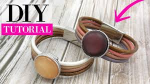 bracelet clasps diy images How to make a leather bracelet with magnetic clasp jpg