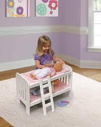 Bunk Bed For Dolls Badger Basket Doll Bunk Beds With Ladder Fits