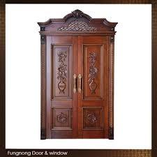 Teak Wood Double Door Designs