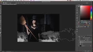 how to add fog or smoke to halloween pictures youtube