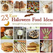 23 easy halloween food ideas student centered resources