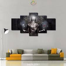 religious decorations for home 3 4 5 pieces spiritual religious god modern home decor wall art