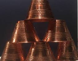 Lamp Shades Etsy by Copper Lamp Shade Etsy