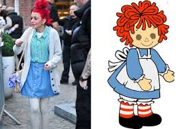 Raggedy Ann Costume Cher Lloyd Halloween Costumes Inspired By British Singer