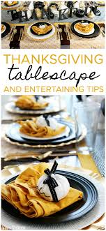 entertaining tips with hen house linens
