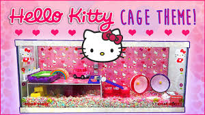 Hamster Cages Cheap Hello Kitty Hamster Cage Theme Secret Tiny Hamsters