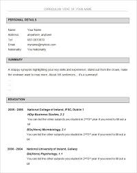 downloadable resume template basic resume template 51 free samples