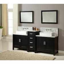 Bathroom Double Vanity by Direct Vanity Sink Horizon Premium 84 In Double Vanity In Ebony