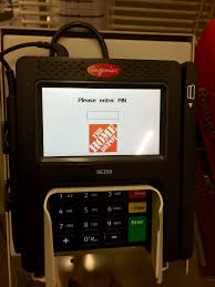 Home Depot Expo Design Center Atlanta Ga Ingenico Group U0027s Isc 480 Caught In Action While Checking At Publix