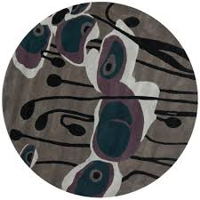 Gray And Purple Area Rug Safavieh Adirondack Grey Blue 6 Ft X 6 Ft Round Area Rug Adr109a
