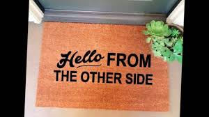 30 funny doormats that completely spoke our minds youtube