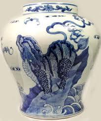 Chinese Blue And White Vase Xl Antique 19thc China U201cming Style U201d Blue White Porcelain Jar