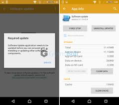 apk software sony software update app 3 1 1 a 0 4 version rolling