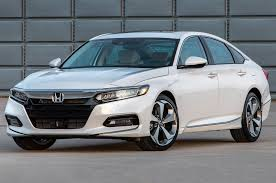 honda white car 2018 honda accord first look lower wider shorter photo u0026 image