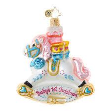 christopher radko ornaments radko gems rockin newborn