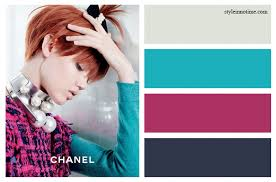 what color matches with pink and blue color matches from top to bottom pearl gray cool aqua gypsy