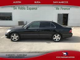 lexus ls 430 for sale by owner 2006 lexus ls 430 rf lthr 6cd 1 owner for sale in san marcos tx