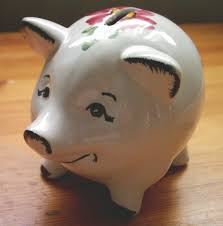 his and piggy bank piggy bank