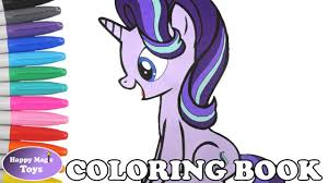mlp starlight glimmer coloring book my little pony coloring page