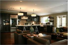 open floor plan kitchen ideas kitchen room small kitchen and living room designs combine small