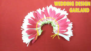 Flower Garland For Indian Wedding How To Make Wedding Garland Designs Tutorial Video How To Make