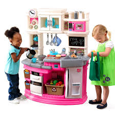 Step Two Play Kitchen by Furniture Endearing Play Kitchens From Step Make Ideal Kids Toys