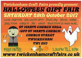 twickenham craft fairshalloween themed gift fair st margarets
