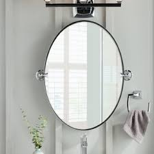 White Oval Bathroom Mirror Oval Bathroom Mirrors You Ll Wayfair In For Plans 16