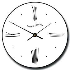 kitchen clocks modern impressive wall clocks modern 135 large modern black wall clocks