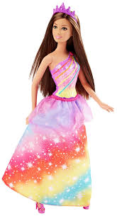barbie princess rainbow doll dhm52 barbie