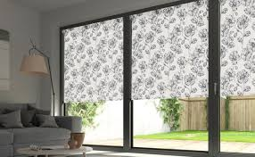 sliding glass door covering options patio door blinds in choices of beautiful design stanleydaily com