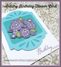 Cricut Birthday Card Artistry Cricut Birthday Card Youtube