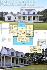 100 southern house plans wrap around porch southern low