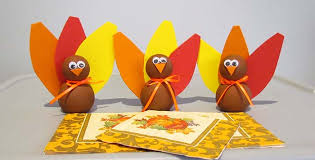 easy to make thanksgiving table decorations step2