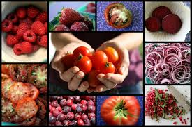 amazing heart farmcolor your food red