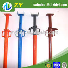 adjustable height steel props and adjustable prop for sale