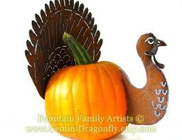 Metal Home Decor Rusty Turkey Pumpkin Kit Diy Garden Art Fall Home Decor Handmade