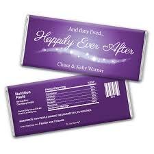 purple wedding favors disney theme wedding candy favors fairytale ending personalized