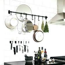 rangement pour ustensiles cuisine barre de suspension pour ustensiles de cuisine set accessoire