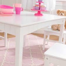 kidkraft nantucket 4 piece table bench and chairs set nantucket table with bench 2 chair set white