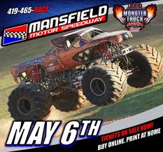 monster truck shows in ohio mansfield ohio mansfield motor speedway monster truck monster