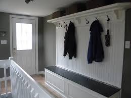 Mudroom Storage Bench Single Door Mudroom Closet Design Roselawnlutheran
