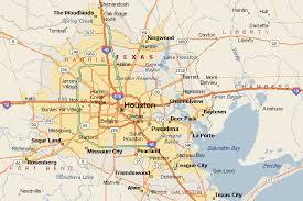 map of houston area map houston area indiana map
