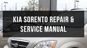 download kia sorento body service and repair manual youtube