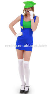 cheap girls clothing high quality mario and luigi costume