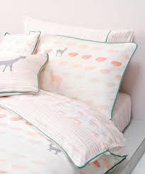King Single Bed Linen - oh deer sheet set kids baby nursery and kids room