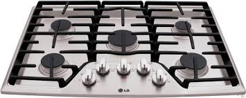 Lg Downdraft Cooktop Lg Lcg3011st 30 Inch Gas Cooktop With Superboil Burner 5 Sealed