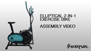 lifemax dual action fan bike assembly video harvil elliptical 2 in 1 exercise bike exercise