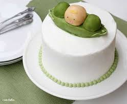 Two Peas In A Pod Centerpieces by Baby Pea Baby Shower Cake I Am Baker