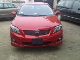 toyota corolla s 2009 for sale for sell toyota corolla sport 2009 model autos nigeria